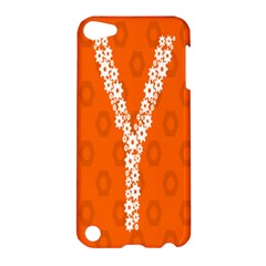 Iron Orange Y Combinator Gears Apple Ipod Touch 5 Hardshell Case by Mariart