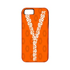 Iron Orange Y Combinator Gears Apple Iphone 5 Classic Hardshell Case (pc+silicone) by Mariart