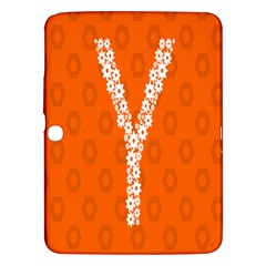 Iron Orange Y Combinator Gears Samsung Galaxy Tab 3 (10 1 ) P5200 Hardshell Case  by Mariart