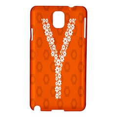 Iron Orange Y Combinator Gears Samsung Galaxy Note 3 N9005 Hardshell Case by Mariart