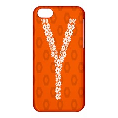 Iron Orange Y Combinator Gears Apple Iphone 5c Hardshell Case by Mariart