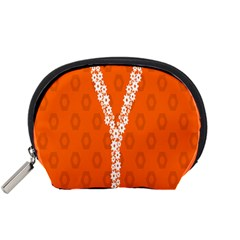 Iron Orange Y Combinator Gears Accessory Pouches (small)  by Mariart
