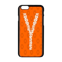 Iron Orange Y Combinator Gears Apple Iphone 6/6s Black Enamel Case by Mariart