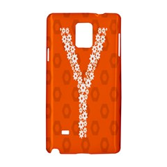Iron Orange Y Combinator Gears Samsung Galaxy Note 4 Hardshell Case by Mariart