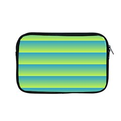 Line Horizontal Green Blue Yellow Light Wave Chevron Apple Macbook Pro 13  Zipper Case