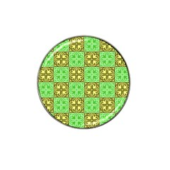 Clipart Aztec Green Yellow Hat Clip Ball Marker (10 Pack) by Mariart