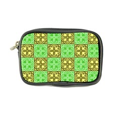 Clipart Aztec Green Yellow Coin Purse by Mariart