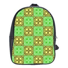 Clipart Aztec Green Yellow School Bags(large)
