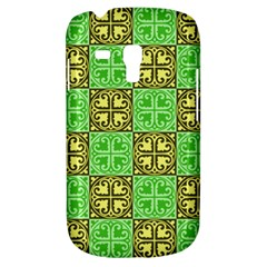 Clipart Aztec Green Yellow Galaxy S3 Mini by Mariart