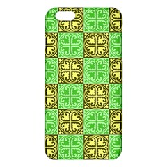 Clipart Aztec Green Yellow Iphone 6 Plus/6s Plus Tpu Case by Mariart