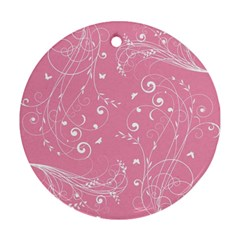 Floral Design Ornament (round)