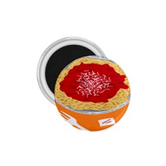 Instant Noodles Mie Sauce Tomato Red Orange Knife Fox Food Pasta 1 75  Magnets by Mariart