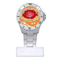 Instant Noodles Mie Sauce Tomato Red Orange Knife Fox Food Pasta Plastic Nurses Watch by Mariart