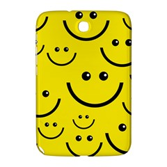 Linus Smileys Face Cute Yellow Samsung Galaxy Note 8 0 N5100 Hardshell Case  by Mariart