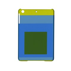 Plaid Green Blue Yellow Ipad Mini 2 Hardshell Cases by Mariart