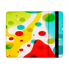 Polkadot Color Rainbow Red Blue Yellow Green Samsung Galaxy Tab Pro 8 4  Flip Case by Mariart