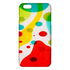Polkadot Color Rainbow Red Blue Yellow Green Iphone 6 Plus/6s Plus Tpu Case by Mariart