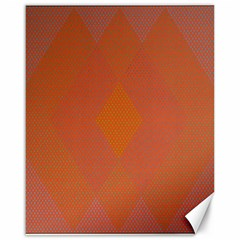 Live Three Term Side Card Orange Pink Polka Dot Chevron Wave Canvas 16  X 20   by Mariart