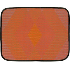 Live Three Term Side Card Orange Pink Polka Dot Chevron Wave Double Sided Fleece Blanket (mini)  by Mariart