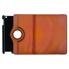 Live Three Term Side Card Orange Pink Polka Dot Chevron Wave Apple Ipad 3/4 Flip 360 Case by Mariart
