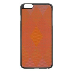 Live Three Term Side Card Orange Pink Polka Dot Chevron Wave Apple Iphone 6 Plus/6s Plus Black Enamel Case by Mariart