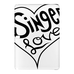 Singer Love Sign Heart Samsung Galaxy Tab Pro 12 2 Hardshell Case by Mariart