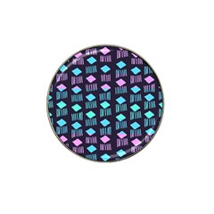 Polkadot Plaid Circle Line Pink Purple Blue Hat Clip Ball Marker (10 Pack) by Mariart
