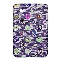 Painted Circles     Apple Iphone 5c Hardshell Case by LalyLauraFLM