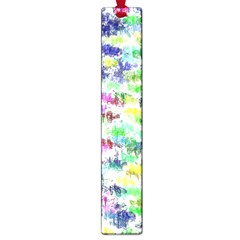Paint On A White Background           Large Book Mark by LalyLauraFLM