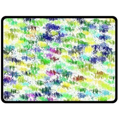 Paint On A White Background          Plate Mat by LalyLauraFLM