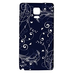 Floral Design Galaxy Note 4 Back Case by ValentinaDesign