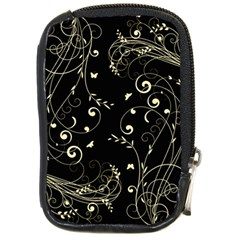 Floral Design Compact Camera Cases by ValentinaDesign