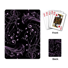 Floral Design Playing Card by ValentinaDesign