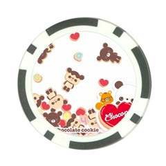 Chocopa Panda Poker Chip Card Guard