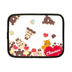 Chocopa Panda Netbook Case (small)  by Nexatart
