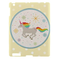 Unicorn Pattern Apple Ipad 3/4 Hardshell Case