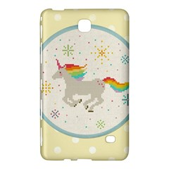 Unicorn Pattern Samsung Galaxy Tab 4 (7 ) Hardshell Case  by Nexatart