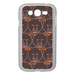 Bears Pattern Samsung Galaxy Grand Duos I9082 Case (white) by Nexatart
