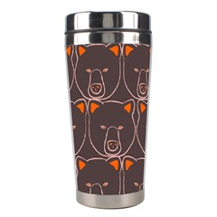 Bears Pattern Stainless Steel Travel Tumblers by Nexatart