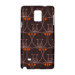 Bears Pattern Samsung Galaxy Note 4 Hardshell Case