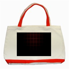 Best Pattern Wallpapers Classic Tote Bag (red)