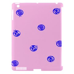Star Space Balloon Moon Blue Pink Circle Round Polkadot Apple Ipad 3/4 Hardshell Case (compatible With Smart Cover) by Mariart