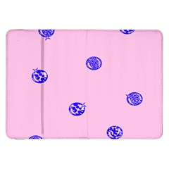 Star Space Balloon Moon Blue Pink Circle Round Polkadot Samsung Galaxy Tab 8 9  P7300 Flip Case by Mariart