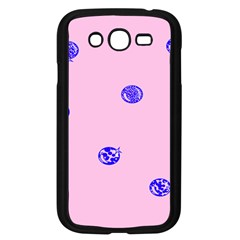 Star Space Balloon Moon Blue Pink Circle Round Polkadot Samsung Galaxy Grand Duos I9082 Case (black) by Mariart