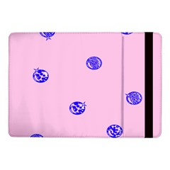 Star Space Balloon Moon Blue Pink Circle Round Polkadot Samsung Galaxy Tab Pro 10 1  Flip Case by Mariart