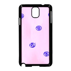 Star Space Balloon Moon Blue Pink Circle Round Polkadot Samsung Galaxy Note 3 Neo Hardshell Case (black) by Mariart
