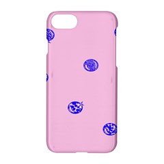 Star Space Balloon Moon Blue Pink Circle Round Polkadot Apple Iphone 7 Hardshell Case by Mariart