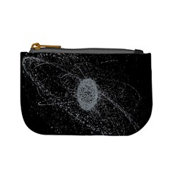 Space X Circle Line Black Mini Coin Purses by Mariart
