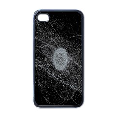 Space X Circle Line Black Apple Iphone 4 Case (black) by Mariart
