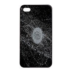 Space X Circle Line Black Apple Iphone 4/4s Seamless Case (black) by Mariart